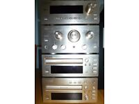 TEAC complete stereo system with Bose Accoustimass 3 series speakers