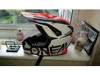 Oneil motorbike helmet