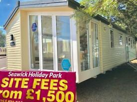 Static Caravan Clacton-on-Sea Essex 2 Bedrooms 6 Berth Atlas Topaz 2008 St