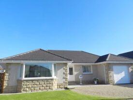 for Sale-Detached Bungalow Peterhead 3 Bedrooms 2 Bath 1 WC Garage runway front back enclosed Garden