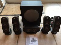 Logitech X-530 PC Multimedia Home Theatre Speaker System