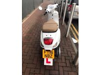 White WK 125 VS Scooter - Sold as Seen - Good Condition