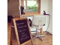 Hair Stylists, Barbers, Health and Beauty Professionals wanted for rent a room/chair