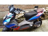 Aprilia SR 50 R Scooter - Non Runner. Ideal for spares/project.