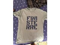 Finisterre t-shirts x 2, both size S