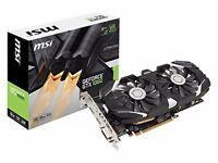 SOLD! MSI NVIDIA Geforce GTX 1060 6GB 0CV1 GDDR5 PCIe DP/DVI/HDMI Graphics Card - Dual Cooling