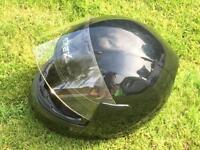 Black Grex motorcycle helmet
