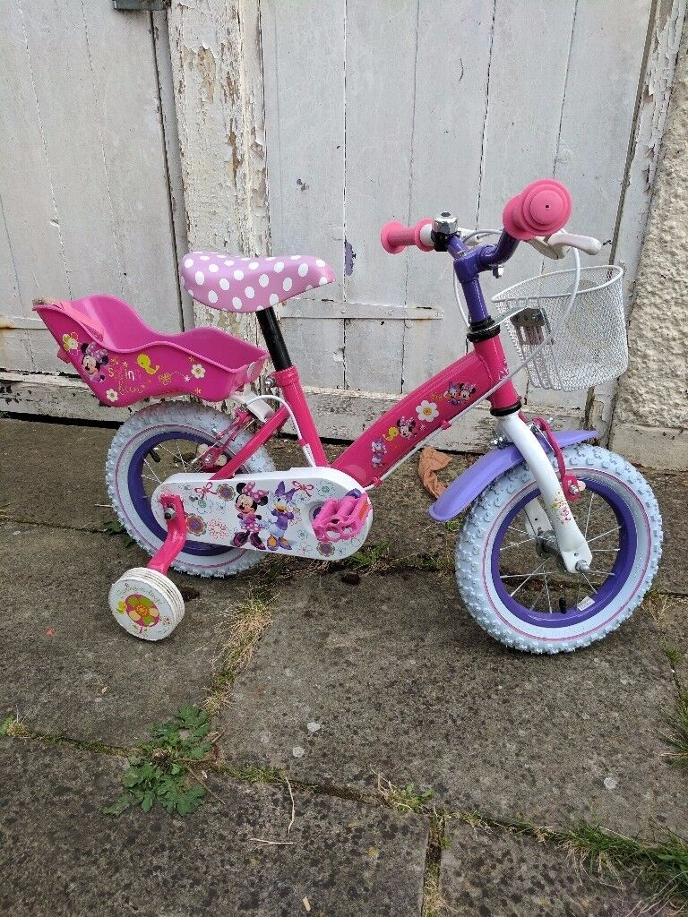 Minnie Mouse Girl Bicycle