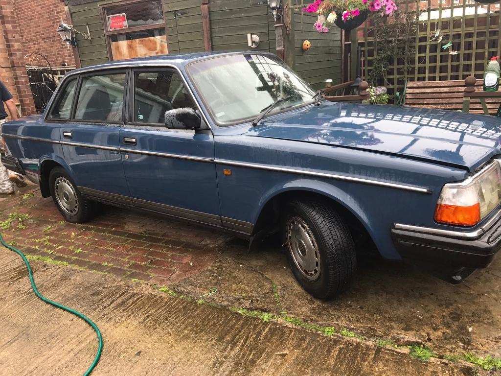 Volvo 240 Classic Car Retro Vintage Barn Find