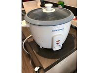 Cookworks rice cooker - Used condition