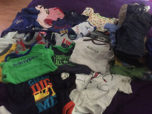 Baby boy clothing excellent condition. No stain smoke free home