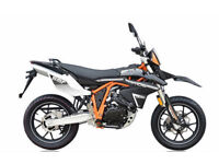 SINNIS Apache SMR 125cc. Supermoto. Learner Legal. Road Bike