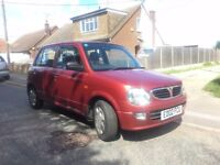 *BARGAIN* 2002 PERODUA Kelisa 1ltr Petrol (Nissan Micra size car)- LOW MILEAGE - 2 OWNERS FROM NEW