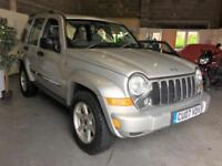 2007 Jeep Cherokee 2.8TD 4X4 Auto Limited,Full Leather