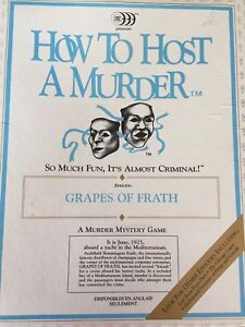 How to Host A Murder : Grapes of Frath