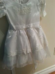 NWOT 3t Dress (white)