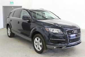 2011 Audi Q7 3.0 Remote Start, 7 Pass, Backup Camera