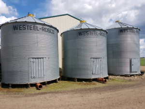 Westeel aeration bins