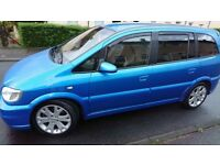 Vauxhall zafira gsi Turbo ARDEN BLUE swap fiesta st or cash