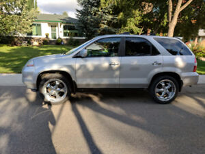 2003 Acura MDX SUV, Crossover, Low Mileage, Winter Tires on Rims