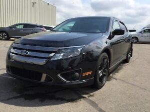 2012 Ford Fusion SPORT AWD Leather,  Heated Seats,  Sunroof,  Ba
