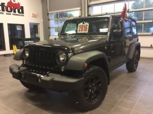 2016 Jeep Wrangler Unlimited WILLYS WHEELERS/132$SEM.TOUT INCLUS