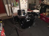 5 Piece Pearl Target drumkit