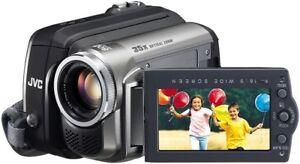 JVC GR-D850 MiniDV Camcorder with 35x Optical Zoom