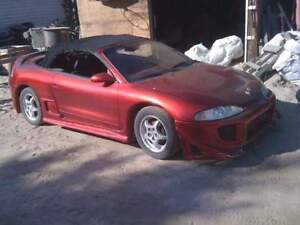 Mitsubishi Eclipse Turbo Convert Part out