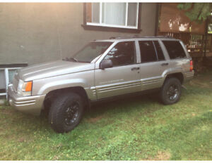 1997 Jeep Grand Cherokee Limted SUV, Crossover