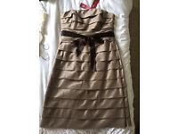 Beautiful pure silk dress. Monsoon Occasionwear. BNWT. Size 14. Only £25