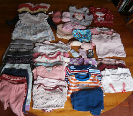 Baby Girl bundle clothes - 3-6 months