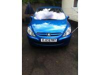 Peugeot 307 rapier bargain 12 months mot