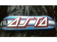 *SIGNED* santa cruz skateboard deck