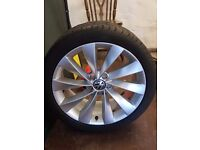 """Set of immaculate 18"""" scirocco alloys"""