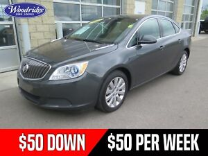 2016 Buick Verano 50/50 SALE! AUTO, LEATHER, NO ACCIDENTS