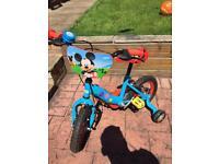 Kids bike Mickey Mouse