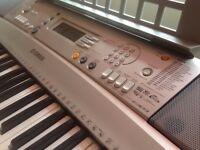 Yamaha Electronic Keyboard & Foot Pedal