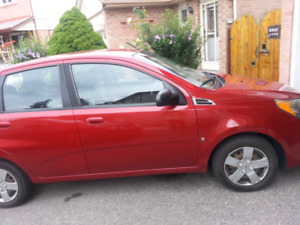 Pontiac wave 2009 for sale as is...great on gas