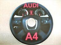 AUDI A4 Workshop manual on DVD