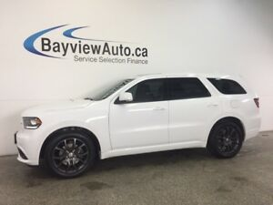 2017 Dodge DURANGO R/T- HEMI! AWD! ROOF! NAV! BSA! LEATHER!
