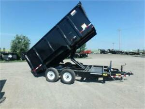Pre-Owned 2017 - 14LX-14 Dump Trailer w/4' High Sides *Tax In*
