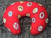 Red Fossil Feeding Pillow