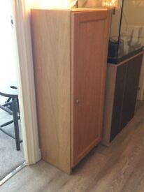 3 Shelf IKEA Cupboard - Oak
