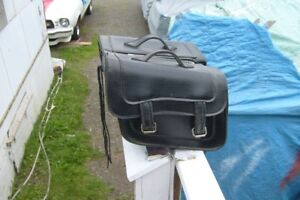 for sale leather  motor cycle bags