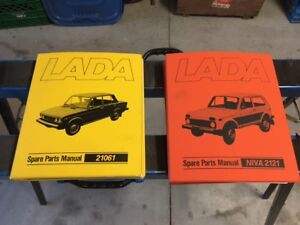 NIVA Lada Original Factory/Dealer Parts Manuals +