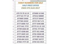 VIP FANCY NUMBERS FOR SALE Half Price Offer