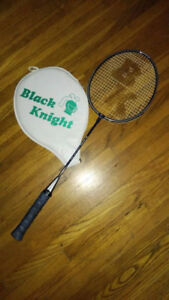 Black Knight badminton racket