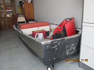 12 ft Aluminum Boat and Electric Motor