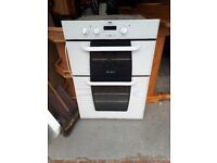 Intergrated double oven